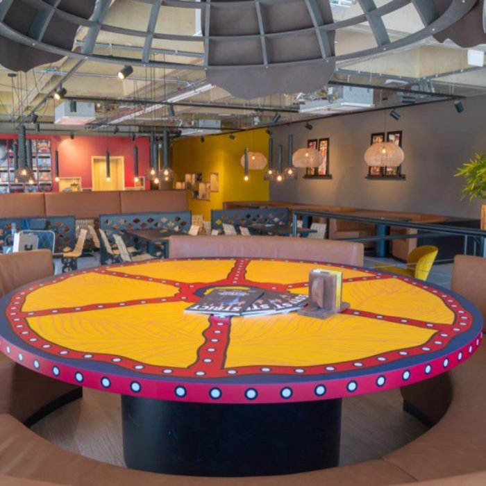 Tribes Rotterdam Centraal Station ronde tafel