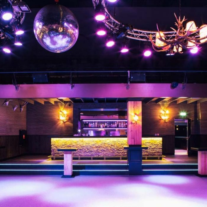 Studio A12 dance floor