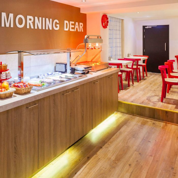 Ibis Styles Amsterdam Amstel ontbijtbuffet