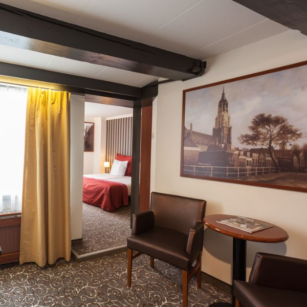 Museumhotels Delft junior suite