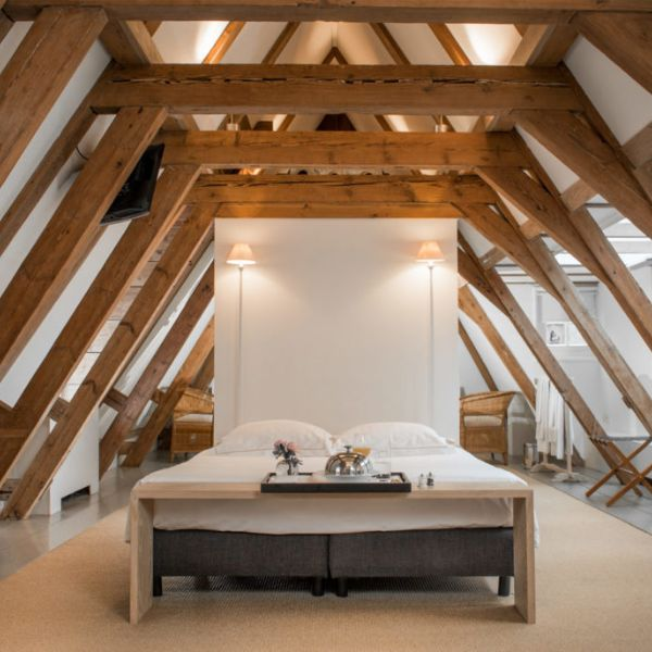 The Dylan Hotel Loft Suite_bed