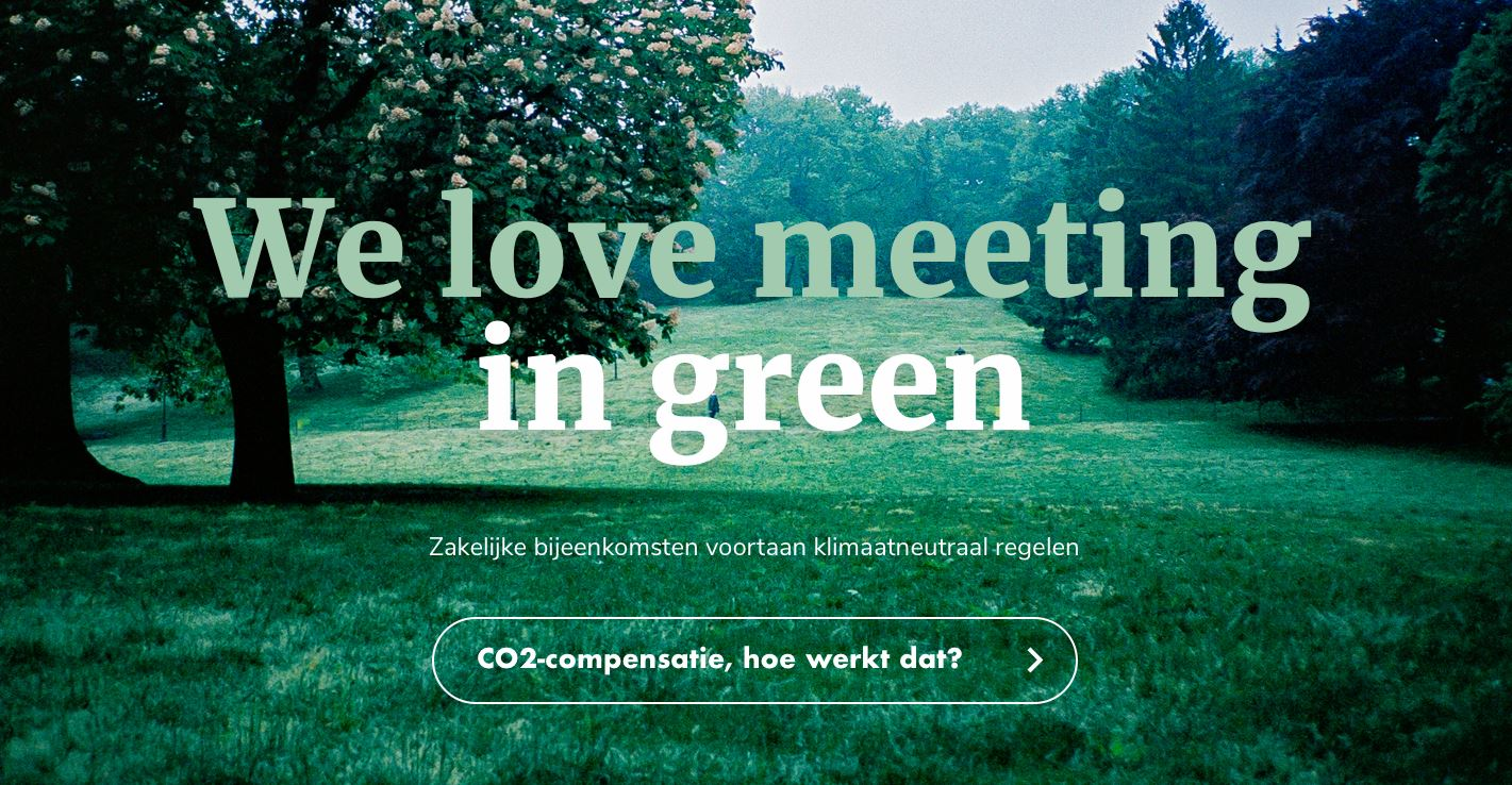 Love meeting in green